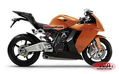 Ktm Rc8 1190 Specs Ktm 1190 Rc8 2008 Specs And Photos