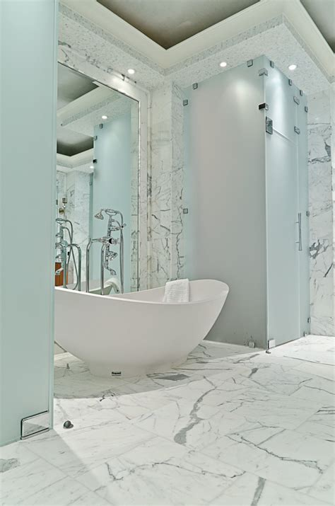 high end bathtubs bathroom modern with area rug ceiling
