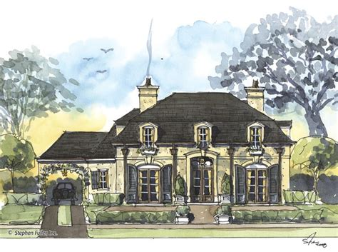 french colonial house plans 89 best stephen fuller homes images on pinterest
