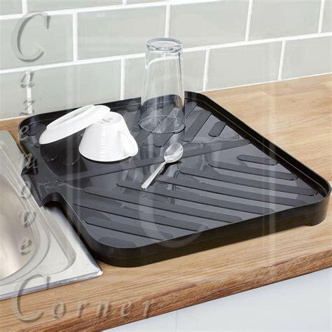 Drainer For Sink by Black Worktop Drainer Tray Sink Draining Board Caravan