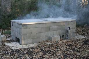 anatomy of a cinder block pit barbecue - Pit Blocks