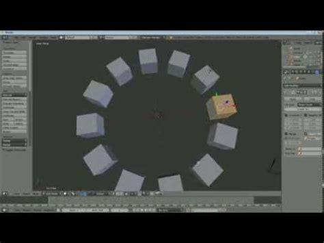 blender tutorial array modifier sean s blender tutorial rotate duplicate around object