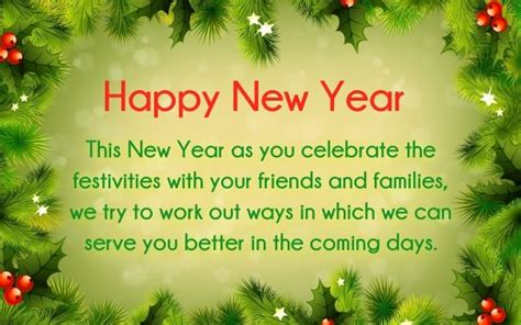 new year message to clients new year 2017 greetings for customers happy new year