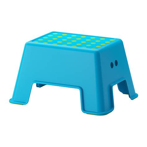 ikea step bolmen step stool blue ikea
