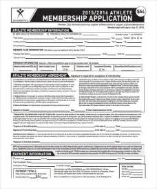 Membership Form Template Pdf by Contract Template 9 Free Documents In Pdf