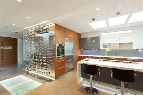 Kitchen Accessories Vancouver Bc The Wave House Contemporary Kitchen Vancouver By