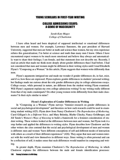 9 College Essay Exles Free Pdf Format Download Application Essay Template