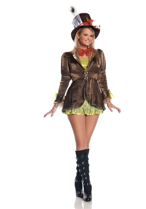 Plus Size Women's Marvelous Mad Hatter Costume Female Mad Hatter Costume