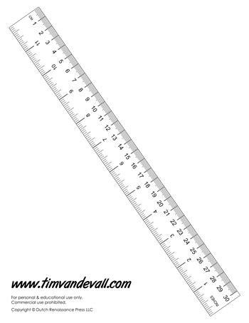 printable paper ruler tim s printables