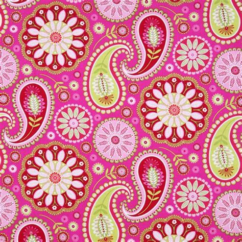 Selimut Patchwork Motif Purple Flower tissu michael miller paisley grandes fleurs