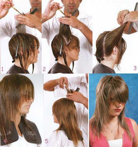 corte degrafilado largo cortes degrafilados tutorial peinados y cortes de cabello