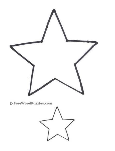 printable star pattern free printable star pattern template