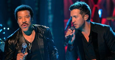 luke bryan duet see lionel richie luke bryan duet on oh no in las vegas