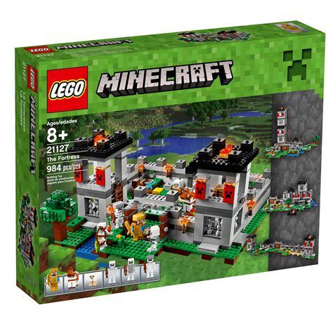 amazon lego amazon com lego minecraft the fortress 21127 toys games