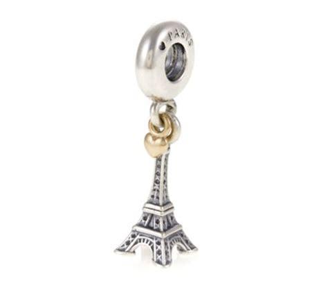 pandora 14ct gold eiffel tower pendant charm 791302 greed jewellery