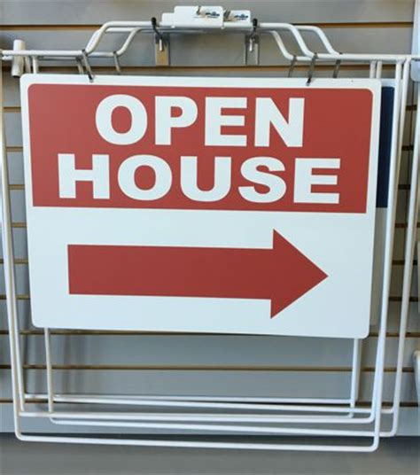 real estate a frame open house signs real estate open house signs the sign center boise id