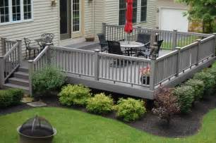 How Much Is A Yard Of Gravel Cost Composite Deck Composite Deck Around Pool