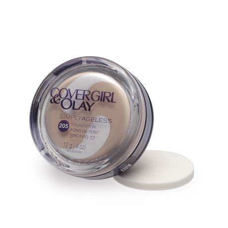 covergirl simply powder foundation natural ivory 515 cover girl olay simply ageless instant wrinkle defying