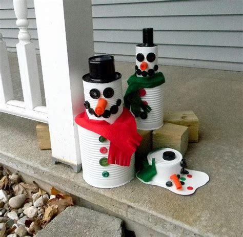 tin can snowman allfreechristmascrafts com