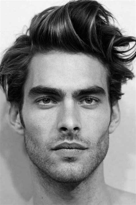 High Cheek Bone Hair Cuts For Men | 15 hairstyles for men with long faces mens hairstyles 2018