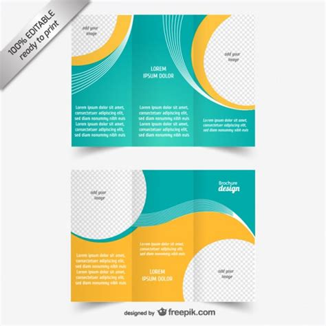 tri fold brochure templates 50 free psd ai vector eps