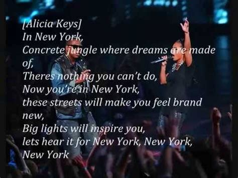 empire state of mind testo z ft new york lyrics