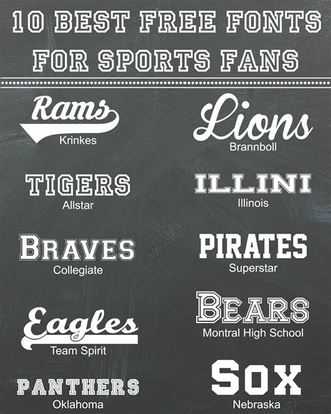 my favorite free fonts take 2 discover best ideas 10 best free fonts for sports fans rosewood and grace