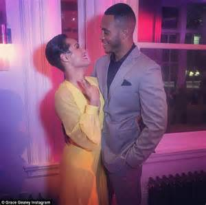 empire tv show stars at wedding image empire co stars trai byers and grace gealey wed in private