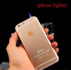 home accessory new design led cigarette lighter for iphone 6 fashion gasoline refillable fire