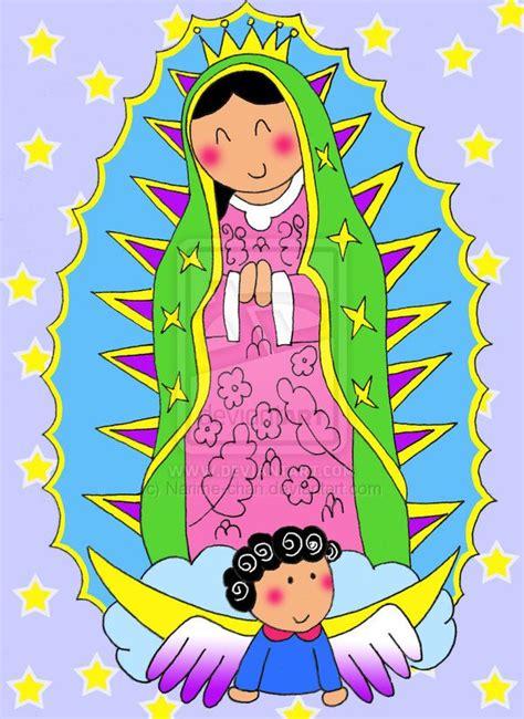 imagenes virgen maria infantil la virgen de guadalupe lupitas virgenes pinterest