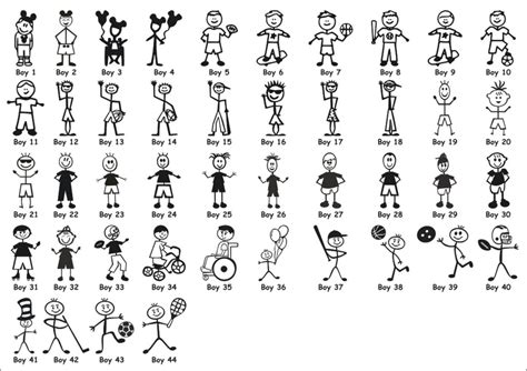 stick figure family stick figure