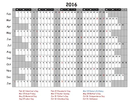 how to make your own calendar in excel customize excel calendar 2016 create your own excel