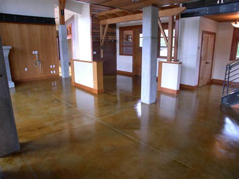 stain concrete hgtv