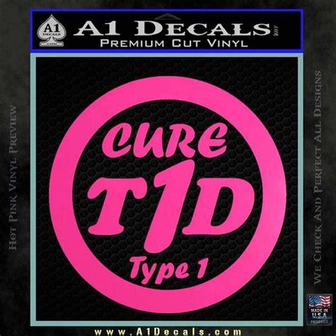Stiker Riben type 1 diabetes support decal sticker ribbon 187 a1 decals