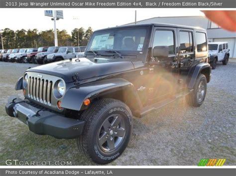 Oscar Mike Jeep Wrangler Unlimited Black 2013 Jeep Wrangler Unlimited Oscar Mike Freedom