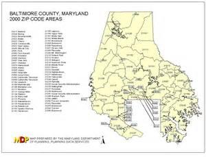 Baltimore City Zip Code Map by 2000 Zip Code Maps