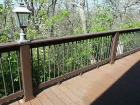 decks deck railing st louis deck railings composite deck