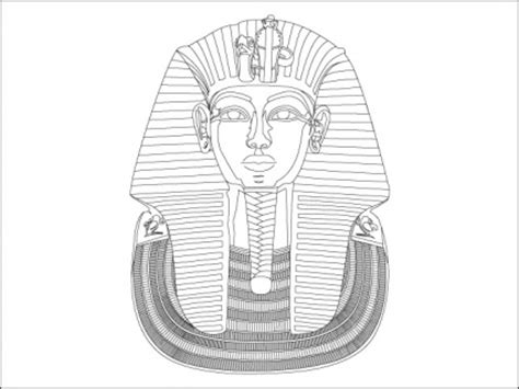 King Tut Mask Template by King Tut Vector Clip Arts Free Clip Clipartlogo