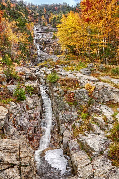 silver cascade nh new england waterfalls silver cascade falls new hshire photograph by jack nevitt