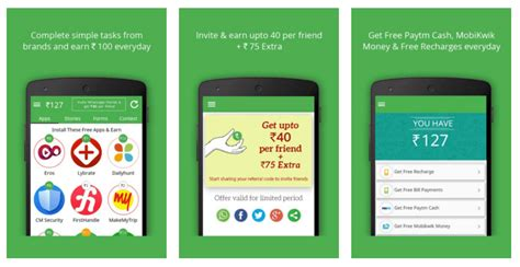 free mobile app for android 10 best free recharge android apps for 2017 highest paying
