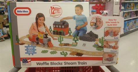 Promo Kulot Waffle Zigzag tikes waffle set as low as 14 99 regularly 60 at target today only hip2save
