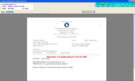 Transcription Manager by Transcription Swearingen Software Inc