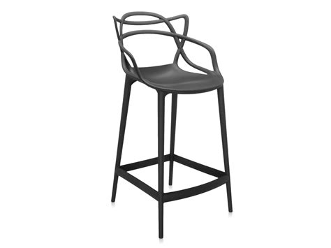 Kartell Bar Stool by Buy The Kartell Masters Bar Stool Black At Nest Co Uk