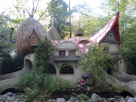 fairy tale forest house netherland world for travel