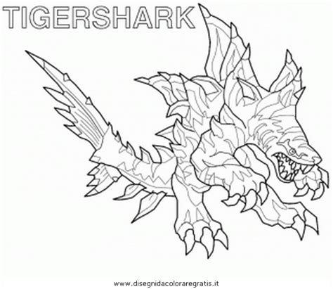 Invizimals Tiger Shark Coloring Page | tiger shark invizimals coloring pages coloring pages