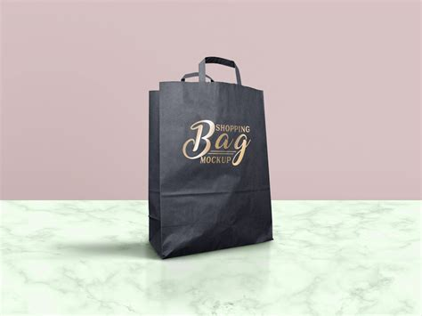Paper Shopping Bag Mockup   MockupWorld