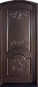 Modern Home Design Edmonton front door custom single solid wood with espresso