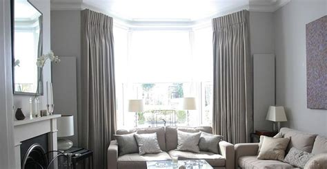 curtains for bay windows in living room soft grey color curtains for bay windows in living room