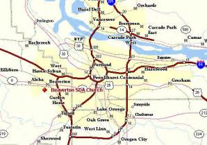 portland metro map map travel holidaymapq