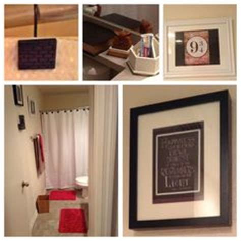 harry potter bathroom decor because harry potter on